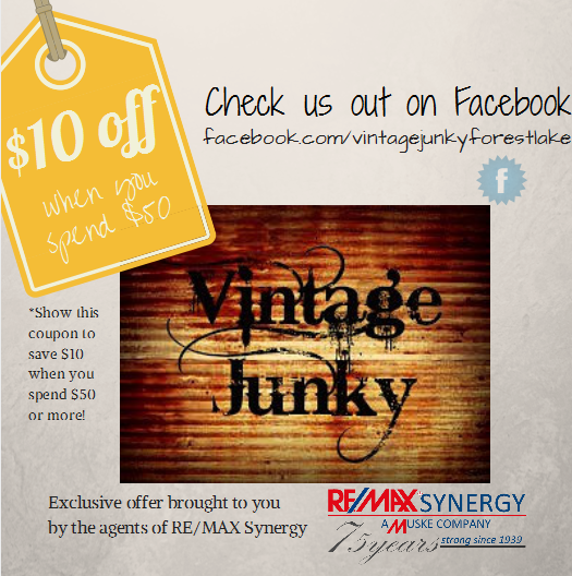 Vintage Junky Coupon